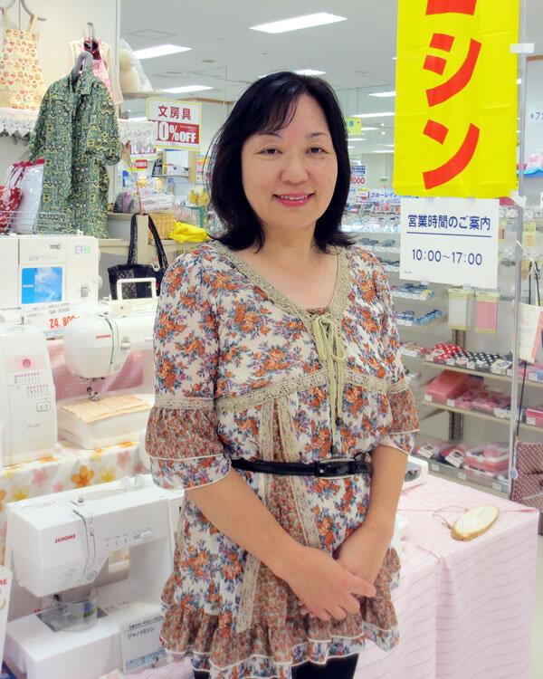 イトーヨーカ堂浜松店ミシン売り場の澤田です