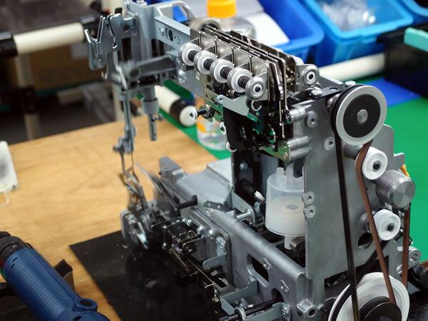 ベビーロック機械式テンション蓄糸器